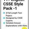 11+ English CSSE Practice Papers Pack 1