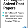11+ English Solved Past Papers
