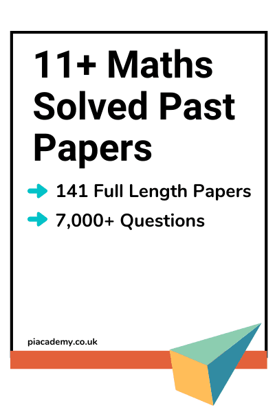 11 Plus Maths Solved Papers