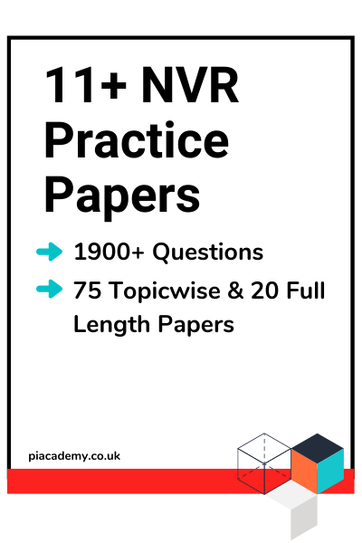 11 Plus NVR Practice Papers