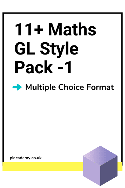 11 Plus GL Maths Maths Papers with answers