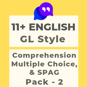 11 Plus English GL Style Pack 2