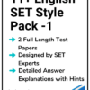 11+ English SET Practice Papers Pack 1