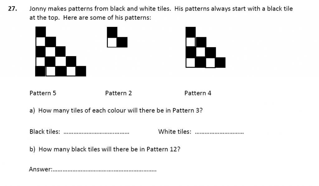 11 plus Latymer Upper School Maths Sample Paper 2 - 2020 Question 30