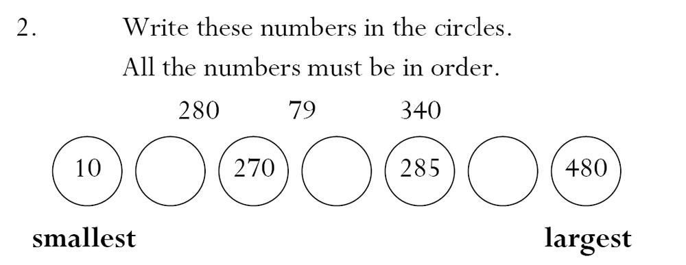 Magdalen College School - 7 Plus Maths Sample Paper Question 02