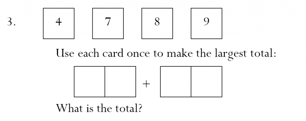 Magdalen College School - 7 Plus Maths Sample Paper Question 03
