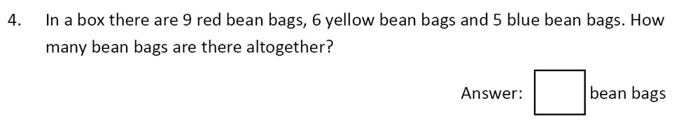 The Perse School Cambridge - Year 3 Specimen Paper Question 04