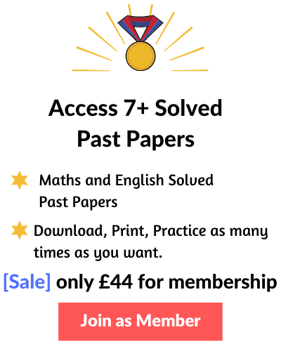7+ Past Papers with answers
