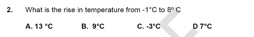 Alleyn's School - 9 Plus Maths Sample Paper Question 02