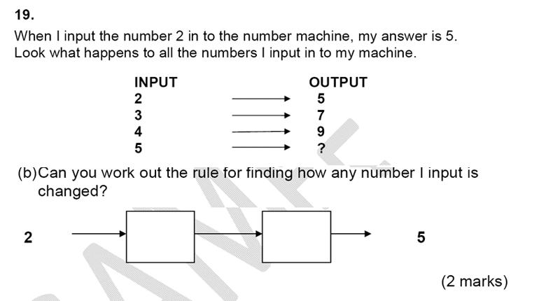 Alleyn's School - 9 Plus Maths Sample Paper Question 22