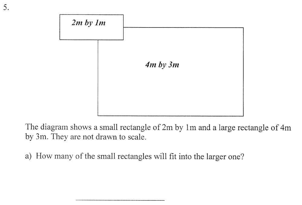 City of London School - 10 Plus Maths Practice Paper Question 06