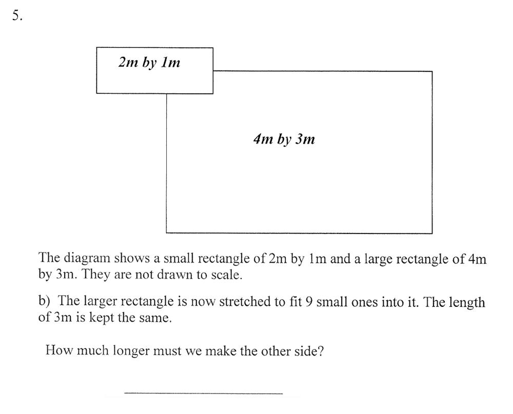 City of London School - 10 Plus Maths Practice Paper Question 07
