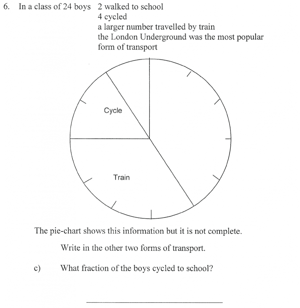City of London School - 10 Plus Maths Practice Paper Question 09