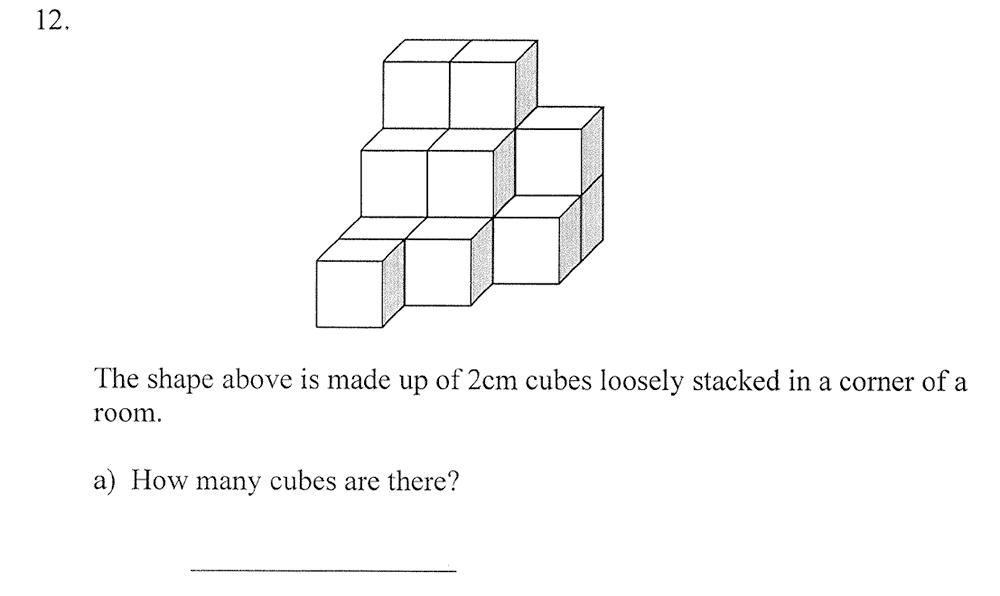 City of London School - 10 Plus Maths Practice Paper Question 16