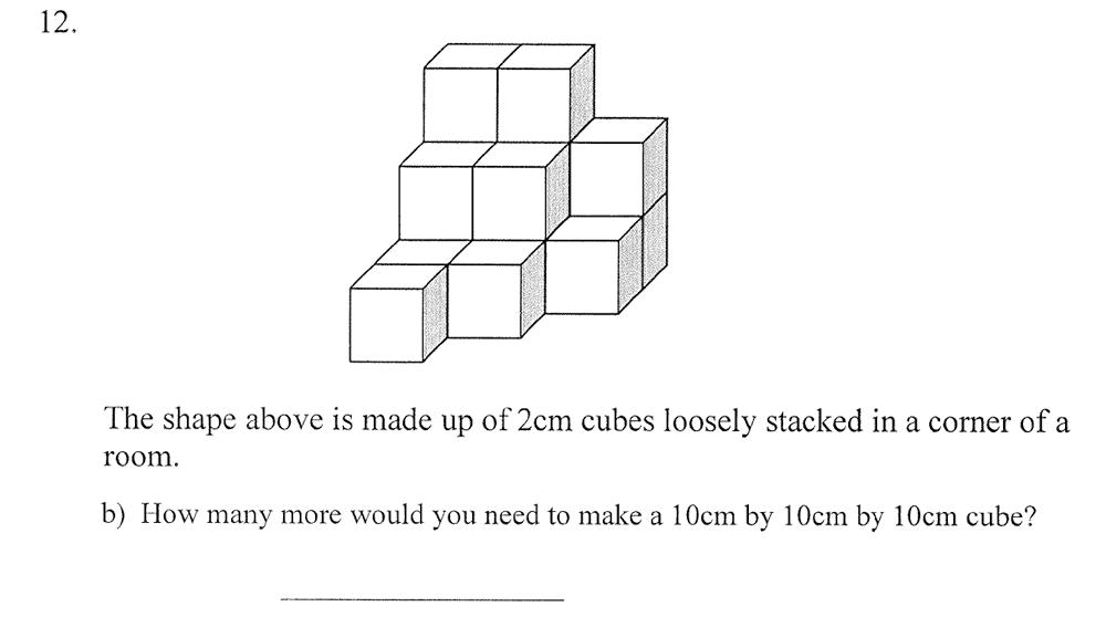 City of London School - 10 Plus Maths Practice Paper Question 17