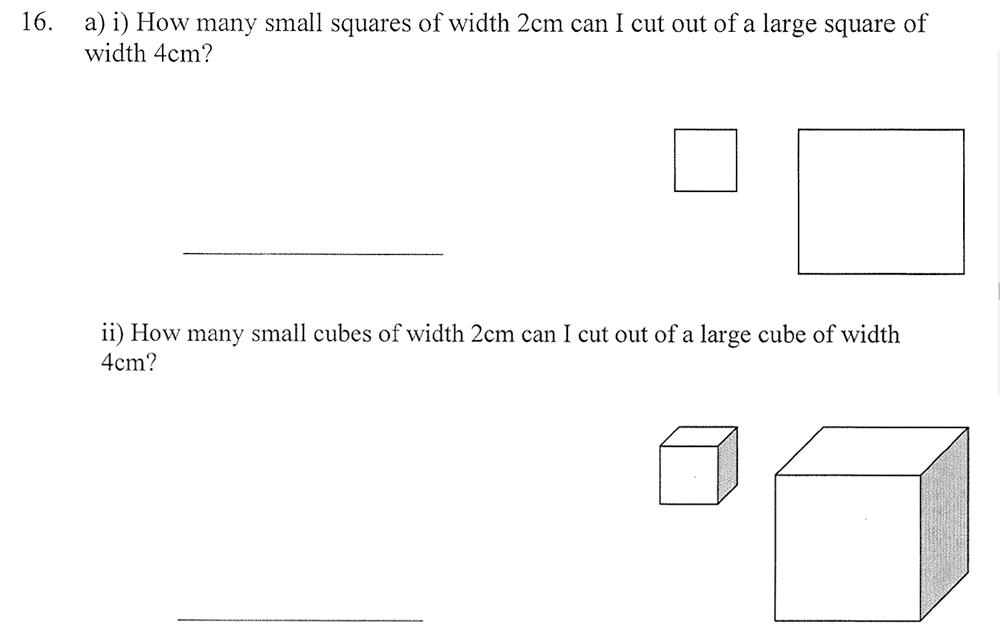 City of London School - 10 Plus Maths Practice Paper Question 21