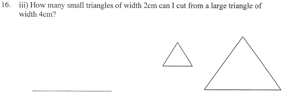 City of London School - 10 Plus Maths Practice Paper Question 22