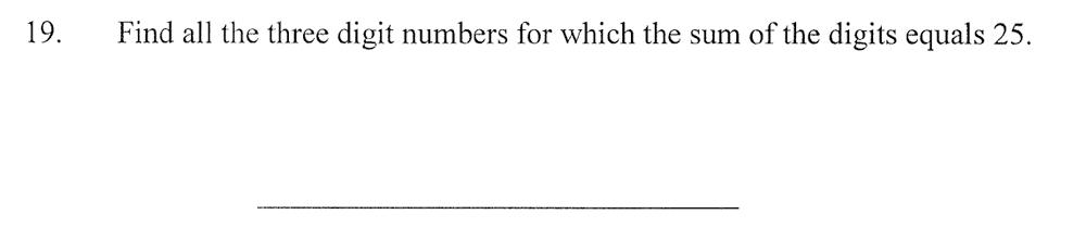 City of London School - 10 Plus Maths Practice Paper Question 26