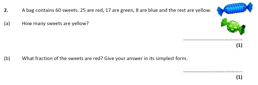 City of London School - 10 Plus Specimen Maths Paper Question 02