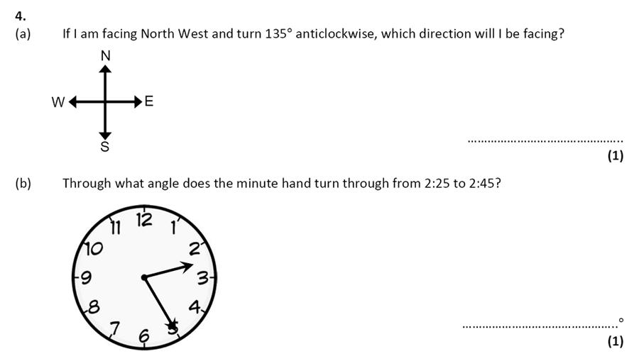 City of London School - 10 Plus Specimen Maths Paper Question 04
