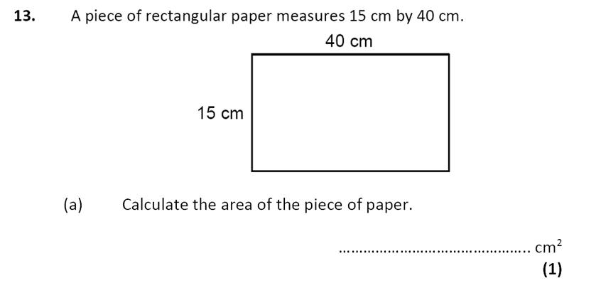 City of London School - 10 Plus Specimen Maths Paper Question 15