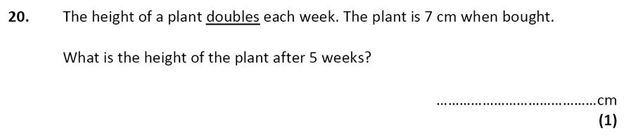 City of London School - 10 Plus Specimen Maths Paper Question 24