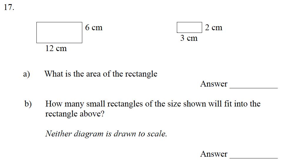 Emanuel School - 10 Plus Maths Entrance Exam Paper Question 19