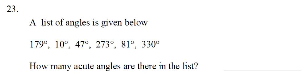 Emanuel School - 10 Plus Maths Entrance Exam Paper Question 25
