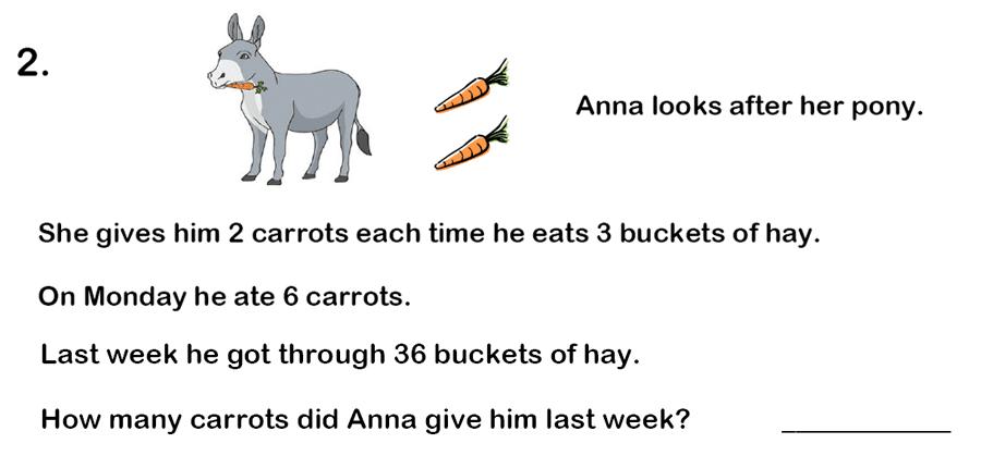 Haberdashers' Aske's Boys' School (HABS) - 7 Plus Maths Question 06