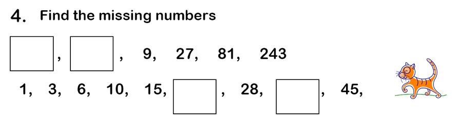 Haberdashers' Aske's Boys' School (HABS) - 7 Plus Maths Question 15