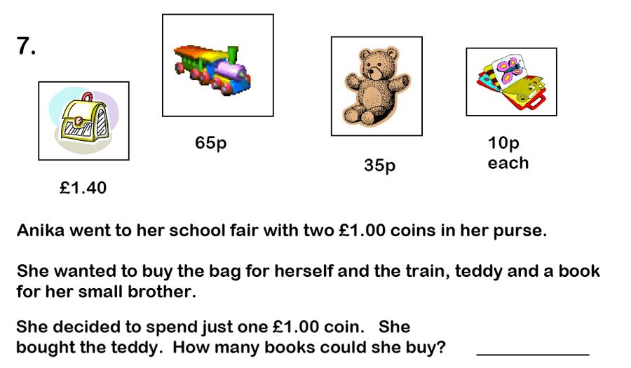 Haberdashers' Aske's Boys' School (HABS) - 7 Plus Maths Question 20