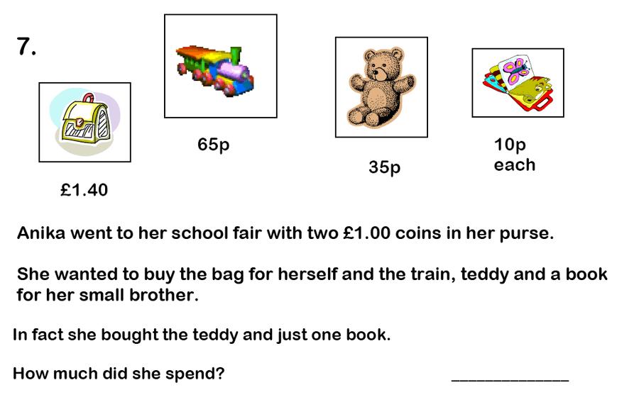 Haberdashers' Aske's Boys' School (HABS) - 7 Plus Maths Question 21
