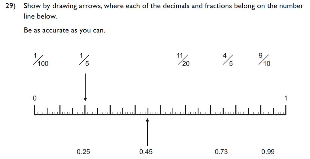 King's College School - 10 Plus Maths Specimen Paper Group D Question 34