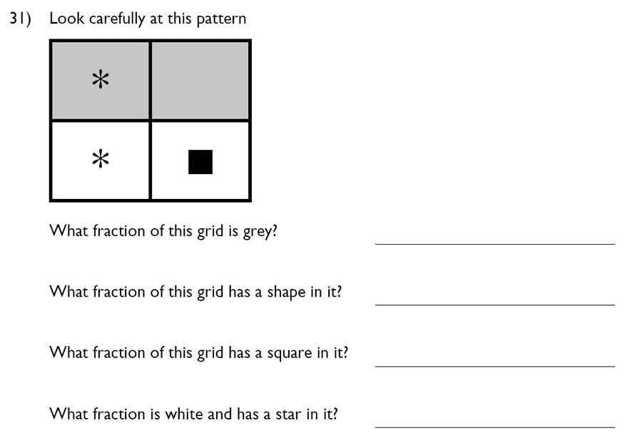 King's College School - 7 Plus Maths Specimen Paper Question 31