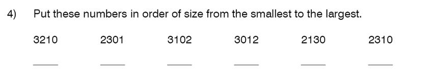 King's College School - 8 Plus Maths Specimen Paper Question 04