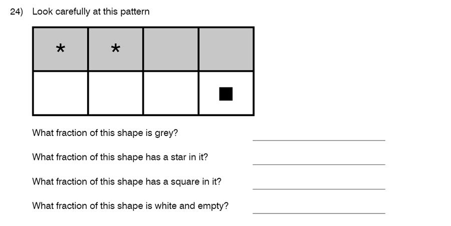 King's College School - 8 Plus Maths Specimen Paper Question 24