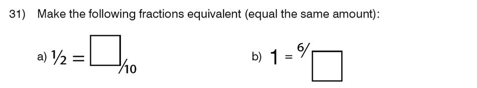 King's College School - 8 Plus Maths Specimen Paper Question 31