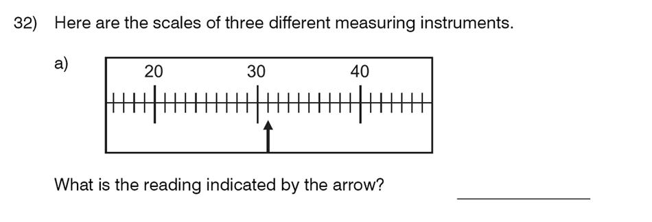 King's College School - 8 Plus Maths Specimen Paper Question 32
