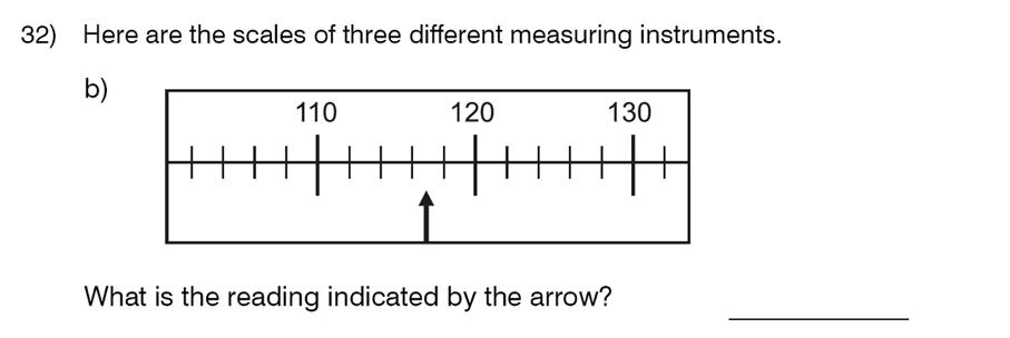 King's College School - 8 Plus Maths Specimen Paper Question 33