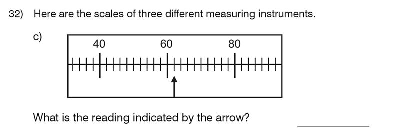 King's College School - 8 Plus Maths Specimen Paper Question 34