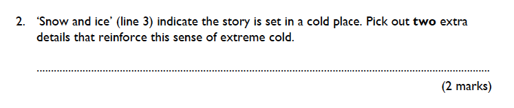 King's College School - 9 Plus English Practice Paper 2015 Question 02