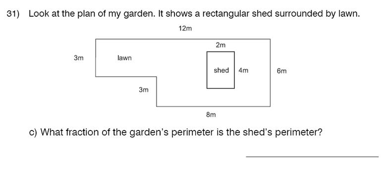 King's College School - 9 Plus Maths Practice Paper 2014 Question 32