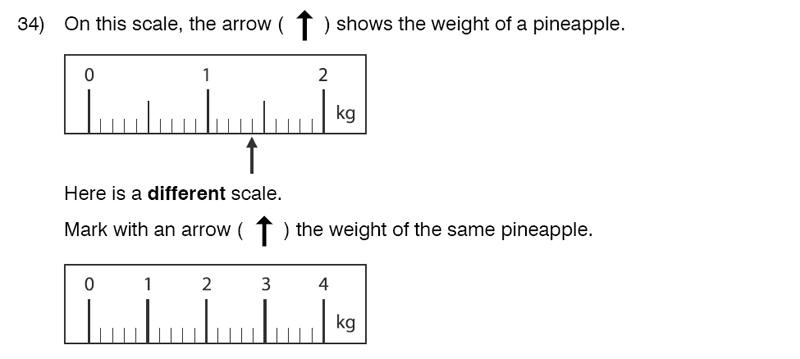 King's College School - 9 Plus Maths Practice Paper 2014 Question 36