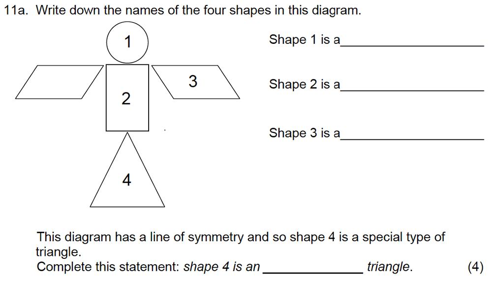 Leicester Grammar School - 10 Plus Maths Specimen Paper Question 13