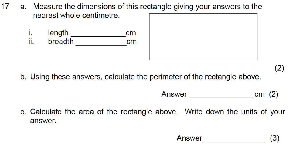 Leicester Grammar School - 10 Plus Maths Specimen Paper Question 21