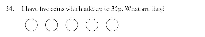 Magdalen College School - 9 Plus Maths Practice Paper Question 31