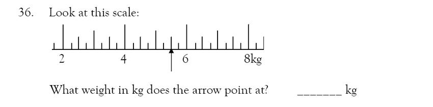 Magdalen College School - 9 Plus Maths Practice Paper Question 33