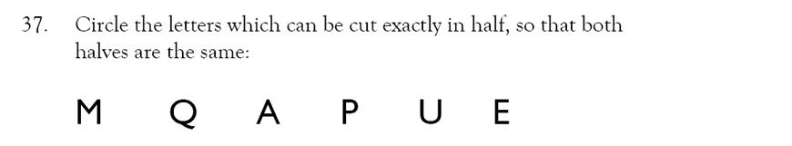 Magdalen College School - 9 Plus Maths Practice Paper Question 34
