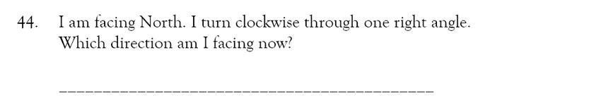 Magdalen College School - 9 Plus Maths Practice Paper Question 41