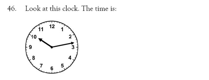 Magdalen College School - 9 Plus Maths Practice Paper Question 43